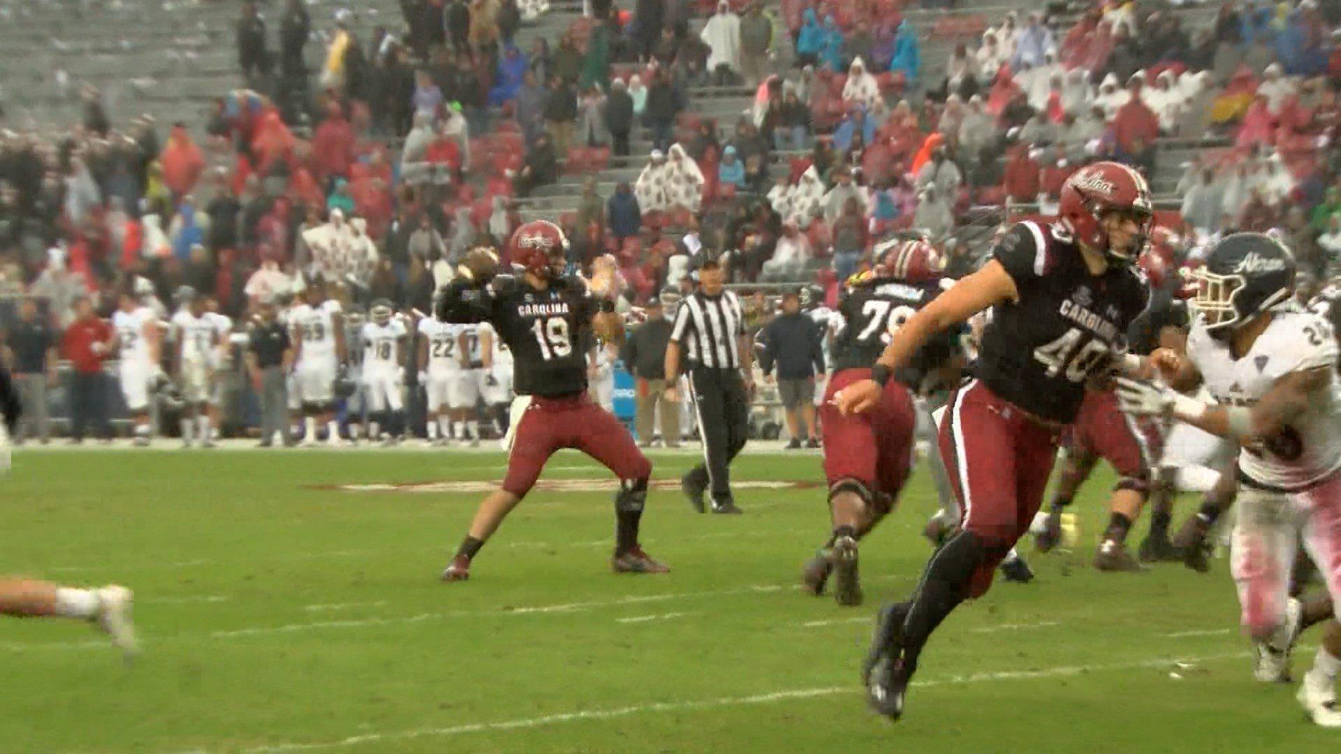 Quarterback Jake Bentley