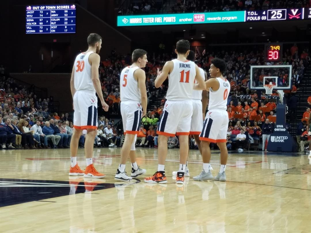UVa Men's Basketball defeats William and Mary.