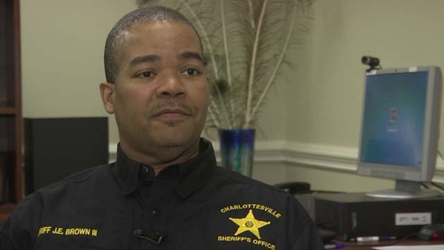 Charlottesville Sheriff James Brown