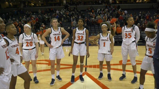 The UVa women's basketball team lost its ACC opener 63-61