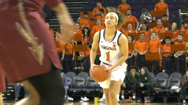 Brianna Tinsley matched her career-high with 19 points against the Seminoles
