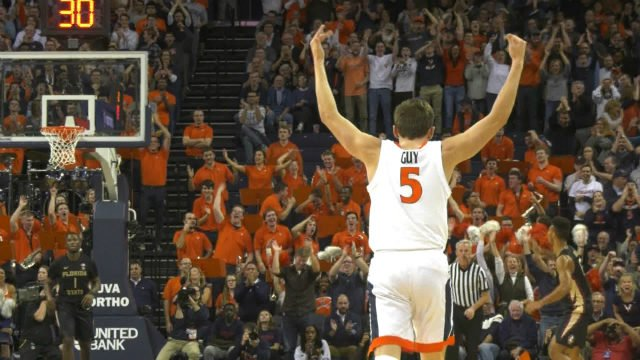 Kyle Guy scored a game-high 21 points for UVa