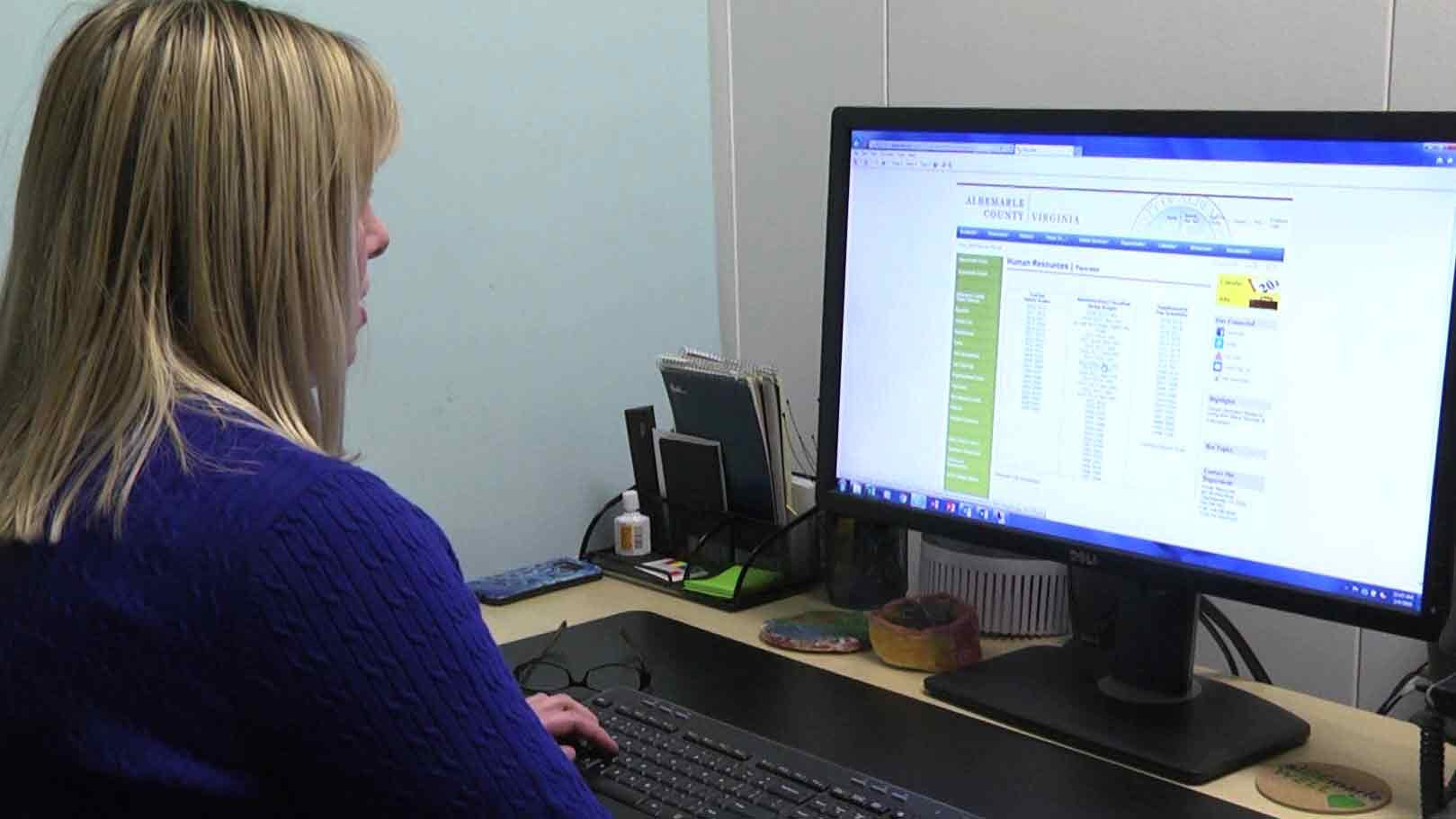 Taking a look at the new pay scale for Albemarle County's public safety employees.