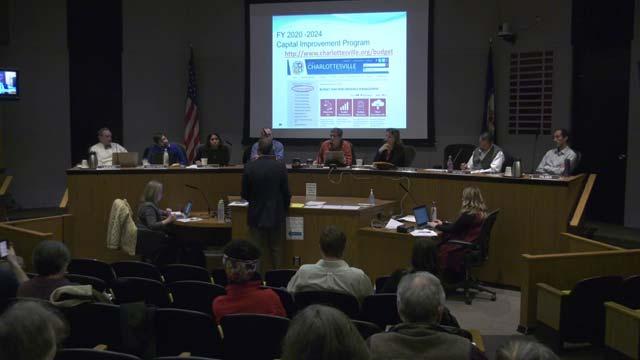 Charlottesville Planning Commission meeting on Jan. 8