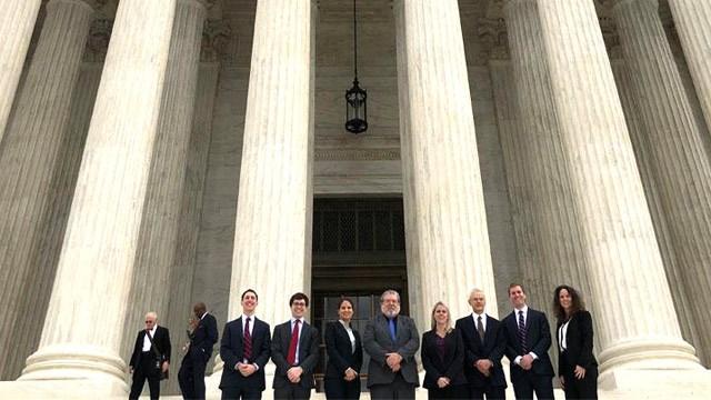 Supreme Court Litigation Clinic (Photo courtesy Sarah Fay)