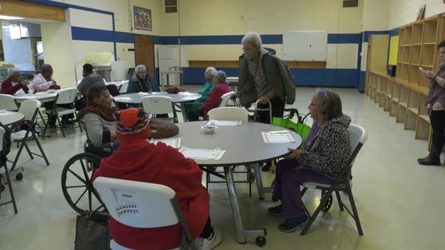 The center offers seniors a variety of services
