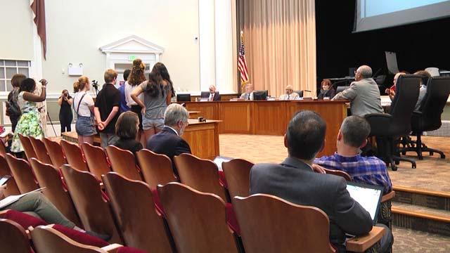 School board meeting on Thursday, January 10