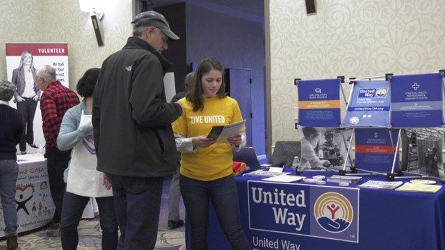 United Way hosted a Mentor and Tutor Fair at the Omni Hotel on Friday.