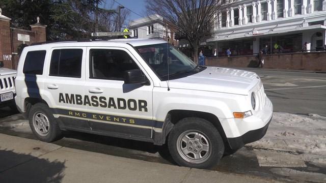 SUV with the UVAAmbassador Program