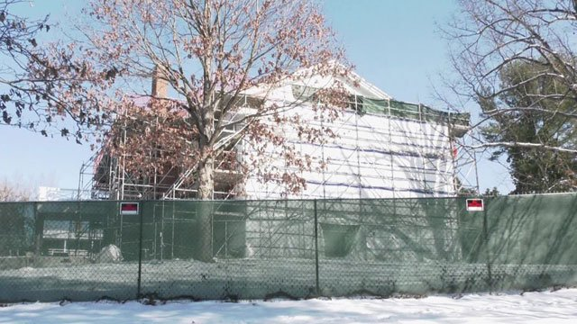 The home of UVA's president will getting a renovation.