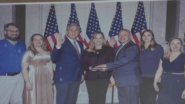 Riggleman was sworn-in to the House of Representatives on Jan. 3.