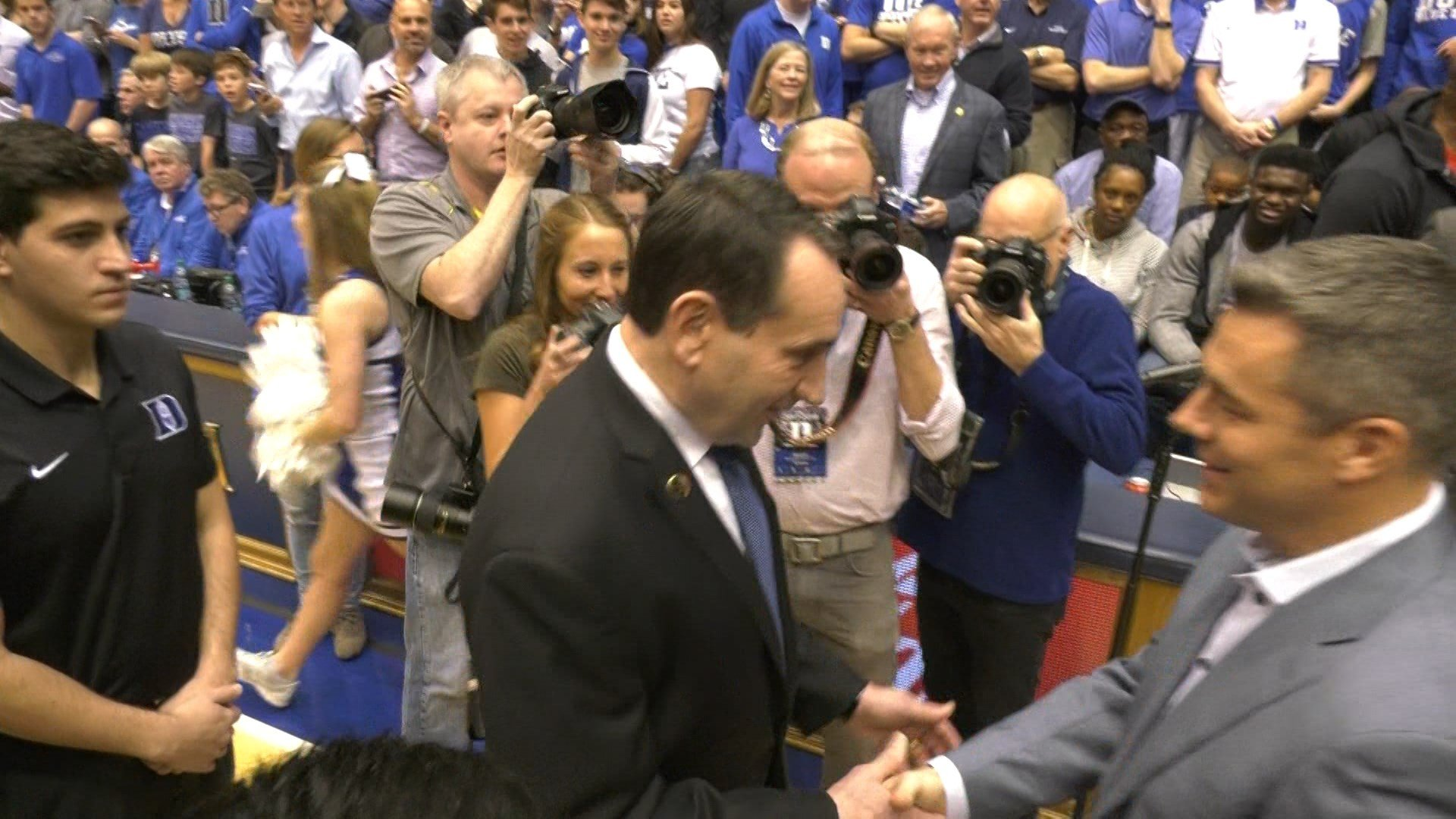 Virginia beat Duke 65-63 last year at Cameron Indoor Stadium