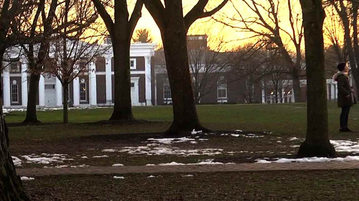 University of Virginia grounds.