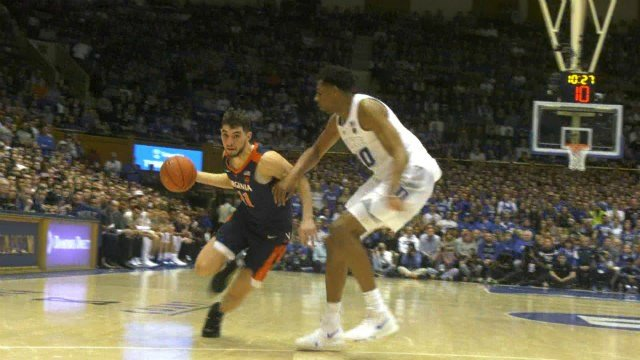 Ty Jerome scored 14 points and dished out four assists for UVa