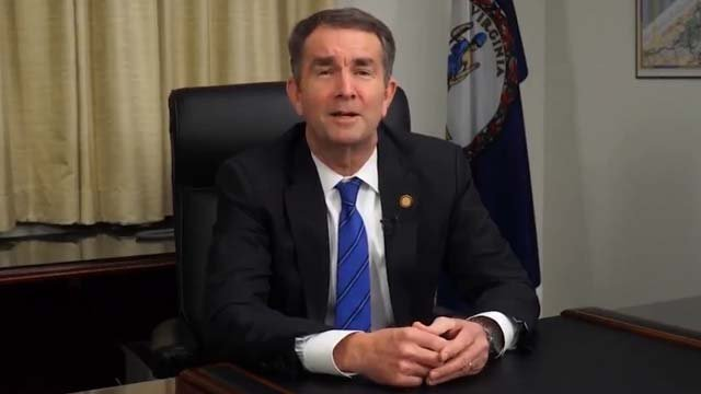 Governor Northam in the video he tweeted
