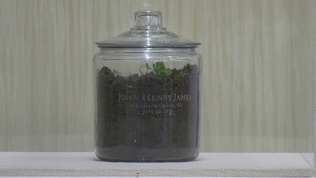 A group collected soil from the lynching site back in July