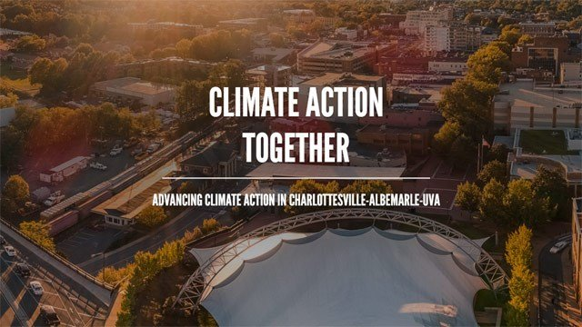 UVA, Charlottesville, and Albemarle are teaming up to reduce greenhouse gas emissions.