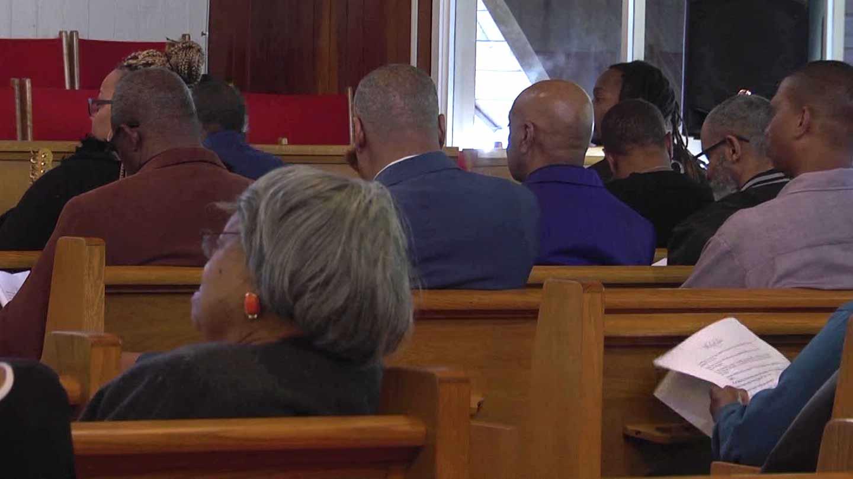 Zion Union Baptist Church honoring its community members.