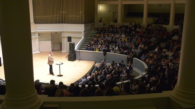 This event was part of a week-long series at UVA
