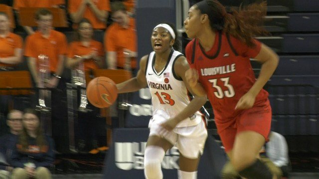 The Cavaliers turned the ball over 18 times against Louisville