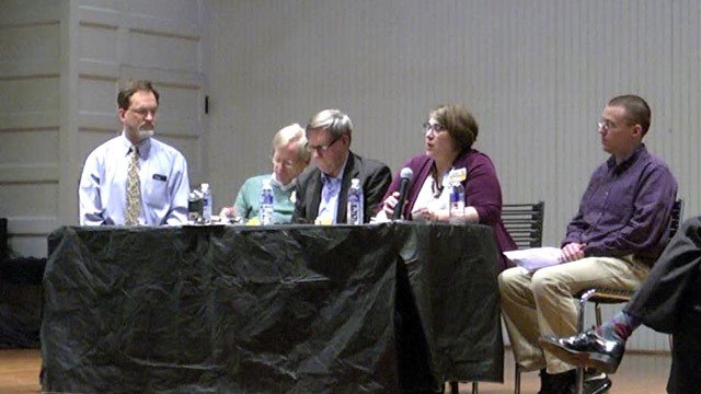 Five of the candidates running for Charlottesville City Council.