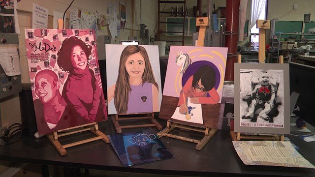 Augusta County Teen Creates Art for Those Fighting Cancer