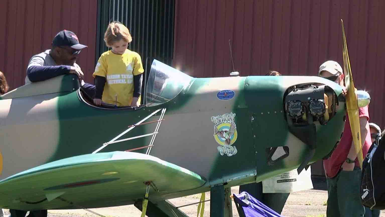 Dozens Gather at Gordonsville Municipal Airport for Cub Scout Aviation Day
