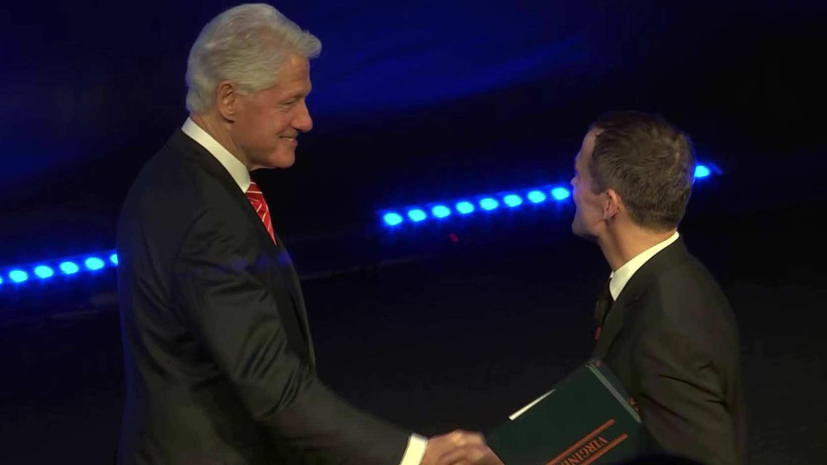 Bill Clinton Discusses Inclusion During PrezFest in Charlottesville