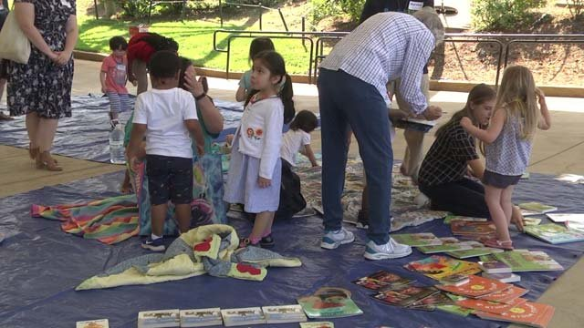 Charlottesville-Area Preschoolers Celebrate End of Year with Picnic