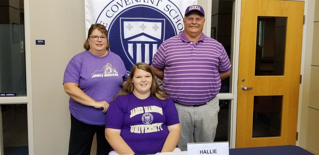 Covenant's Hallie Reese Signs with JMU Track Field