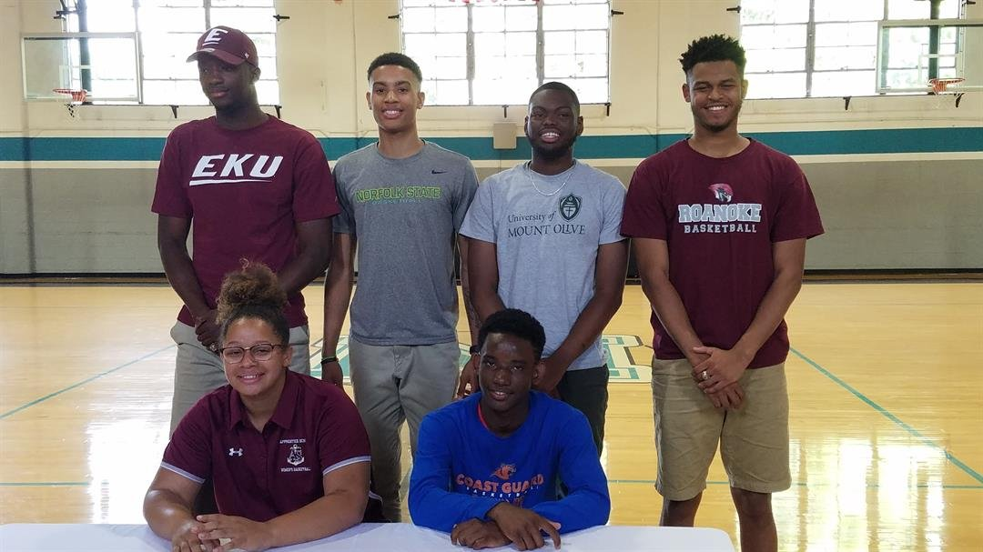 Six Miller School Student-Athletes Sign to Play Basketball in College