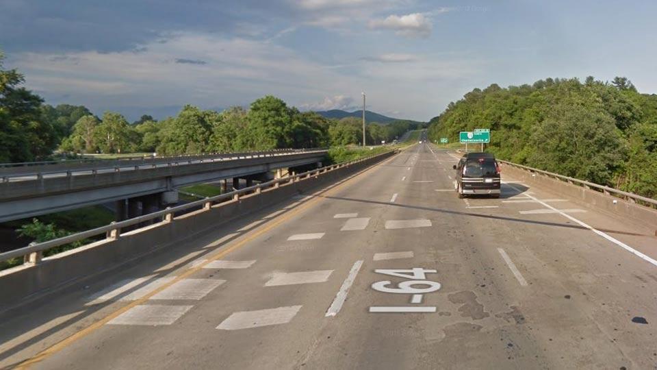 I-64 East Bridge Work Continues this Weekend