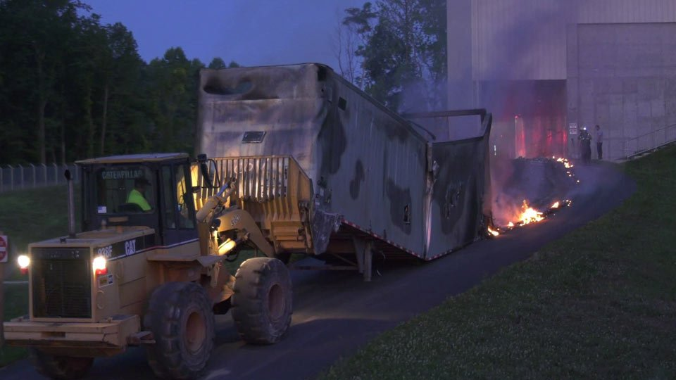 Albemarle County Crews Battle Fire at Ivy MUC
