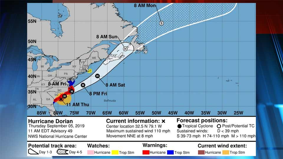 Westlake Legal Group 18738750_G Northam Urges Virginians to Finalize Preparations for Hurricane Dorian Impacts