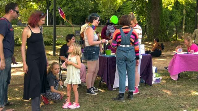 Charlottesville Area Teens Take Part in Youth Pride Picnic