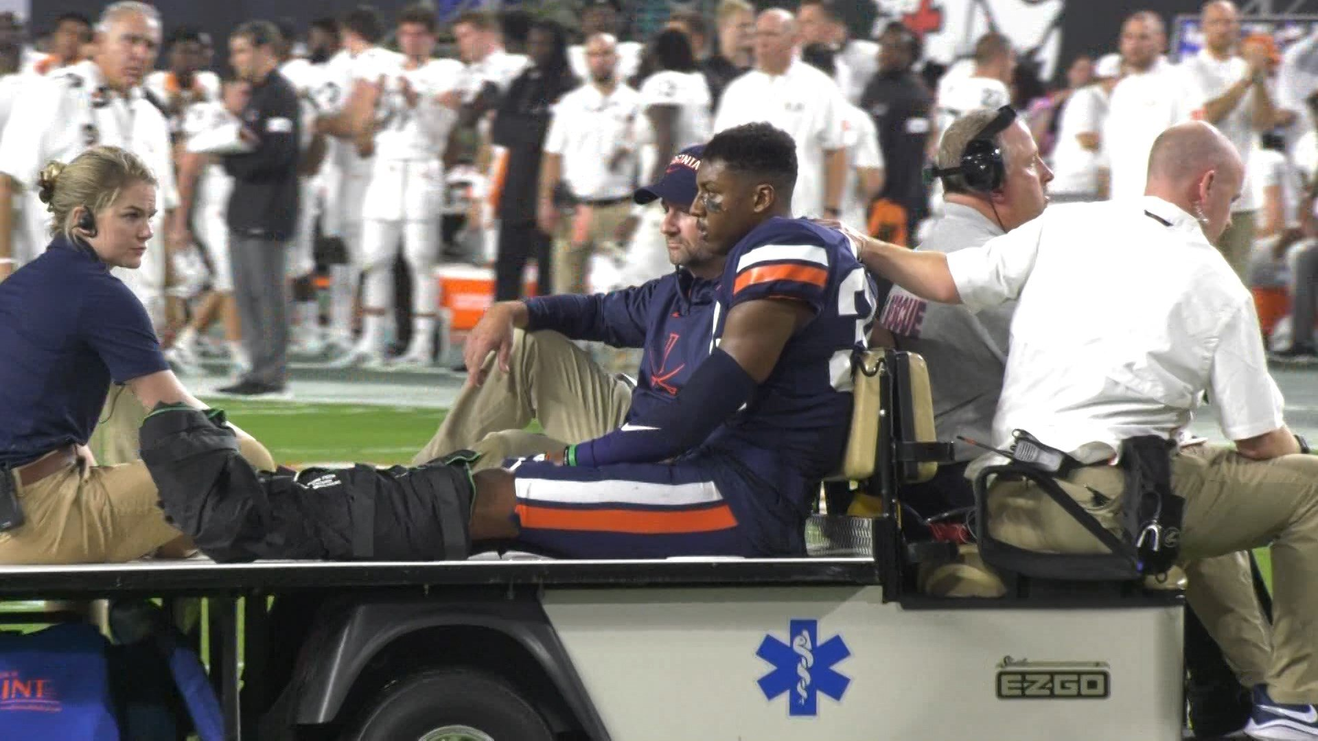 UVa's Bryce Hall Out for The Season Following Ankle Surgery