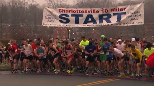 The Charlottesville 10 Miler raised $55,000 for the Building Goodness Foundation last year.