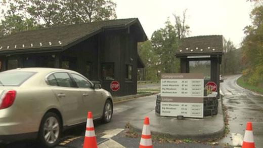Entrance to Shenandoah National Park (FILE IMAGE)