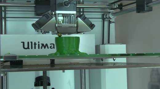 3-D printers used to recreate artifacts.