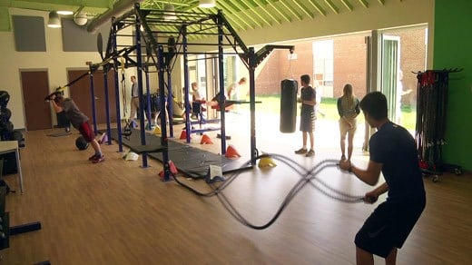 Henley Middle School Opens New Fitness Facility Wvir