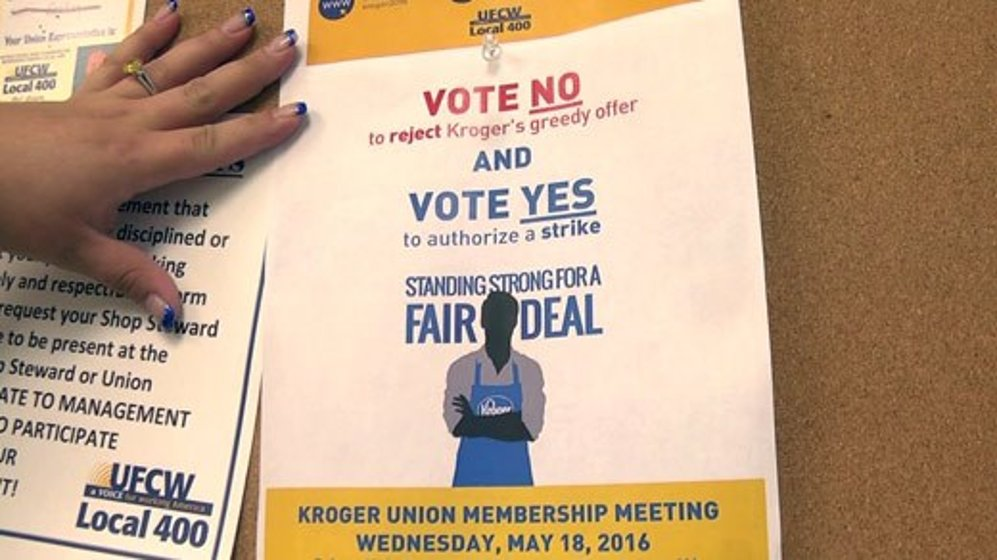 Charlottesville, Albemarle Co  Kroger Employees May Strike - WVIR