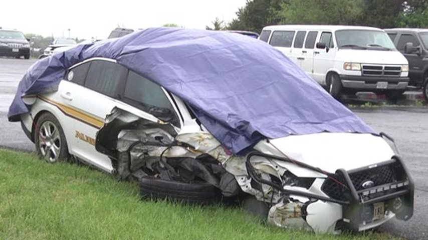 Augusta County Sheriff's Deputy Recovering After Crashing