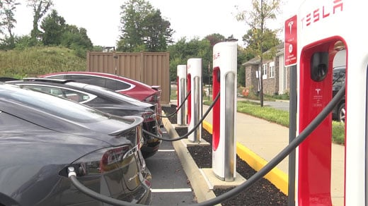 Charging at a tesla charge station - Chevy Bolt EV Forum