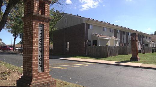 Friendship Court In Charlottesville