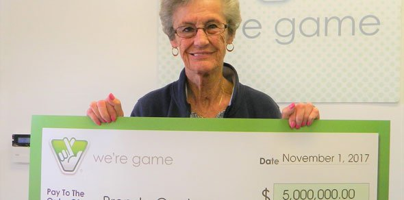 Albemarle County Woman Wins $5 Million in Virginia Lottery