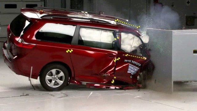 iihs issues safety rating for several minivan models wvir nbc29