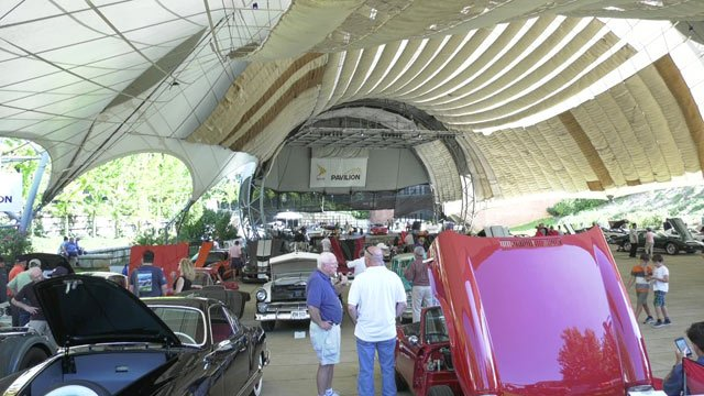 Festival Of The Wheel Car Show Supports Cancer Treatment WVIR - Pavilions car show