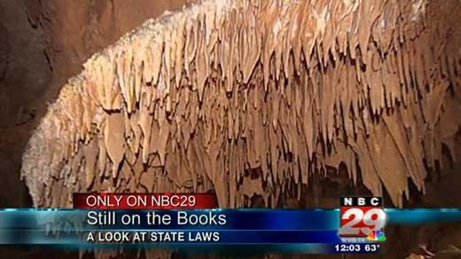 Still on the Books: A Look at State Laws - WVIR NBC29