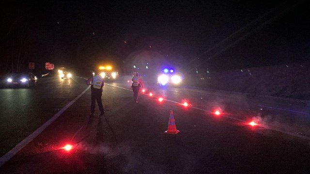I-64 East Near Pantops in Albemarle County Reopens Following Mul