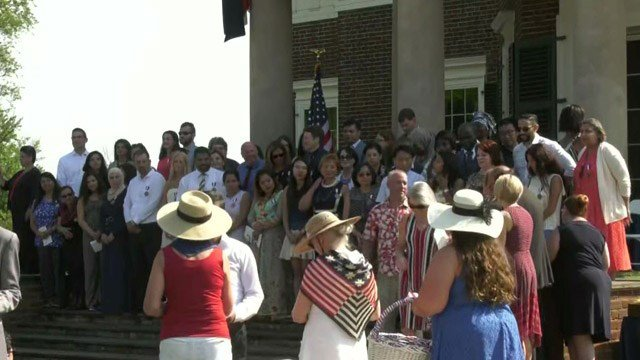 2019 Naturalization Ceremony at Monticello